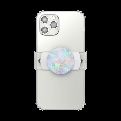 PopGrip Slide Stretch Opal on White