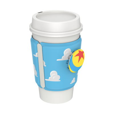 PopThirst Cup Sleeve Pixar Clouds