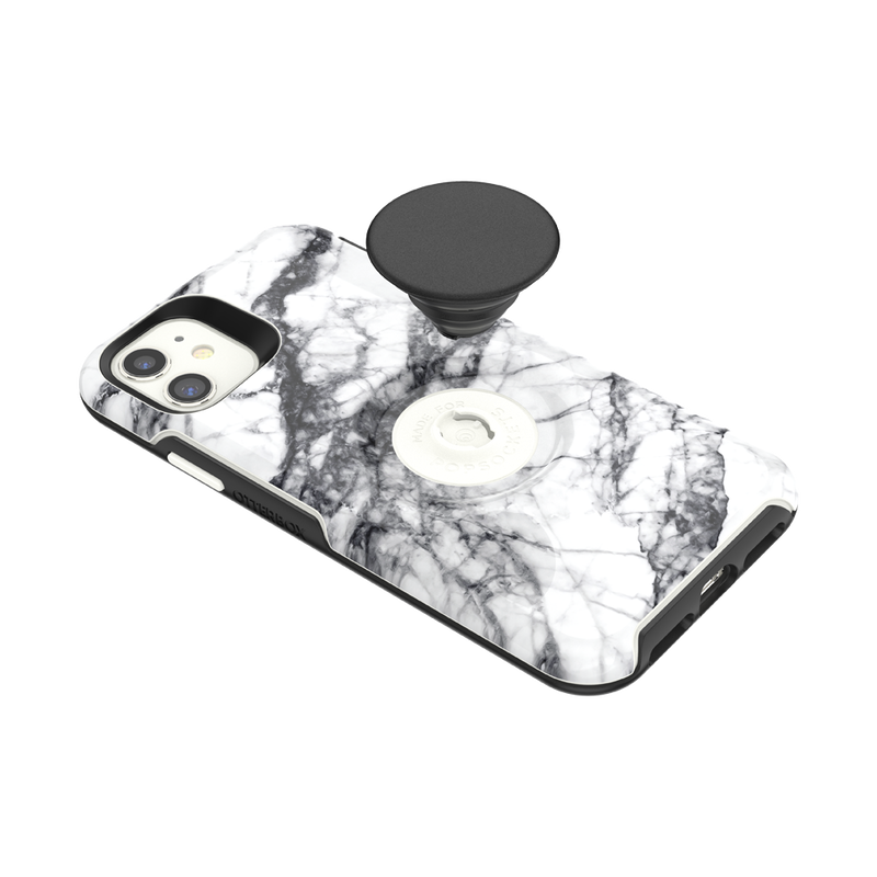Otter + Pop Symmetry Series Case White Marble image number 3
