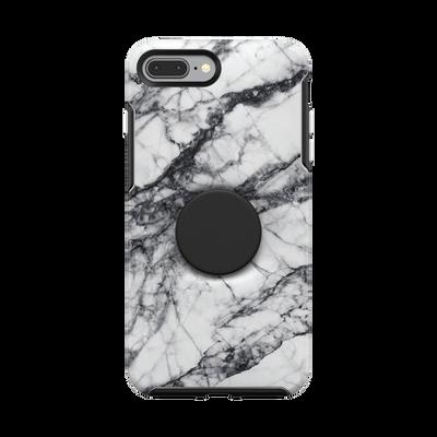 Otter + Pop Symmetry Series Case White Marble