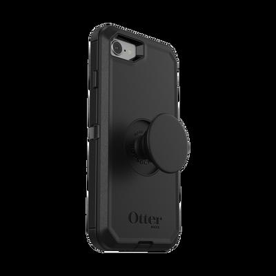 Otter + Pop Black Defender Series Case