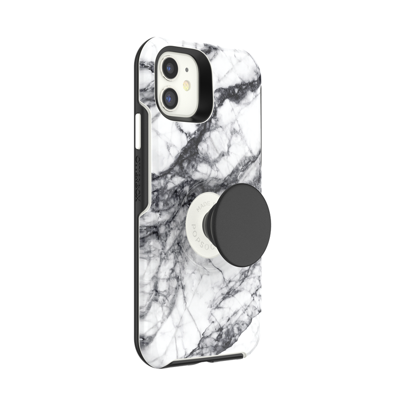Otter + Pop Symmetry Series Case White Marble image number 1
