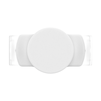 PopGrip Slide Stretch White with Square Edges