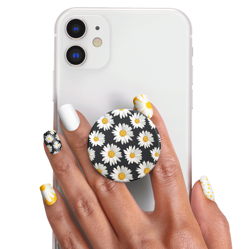 PopSockets Nails Daisies image number 1
