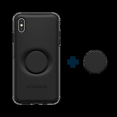Otter + Pop Black Symmetry Series Case