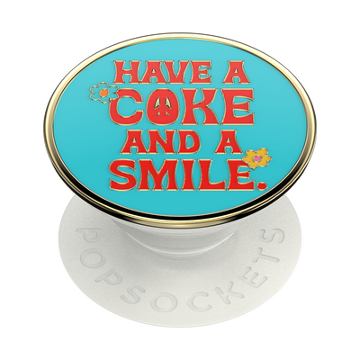 Enamel Coke Unity Smile