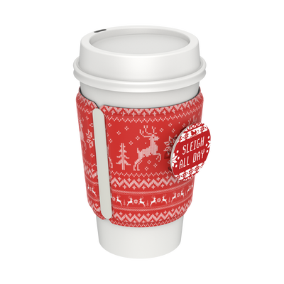PopThirst Cup Sleeve Sweater Weather