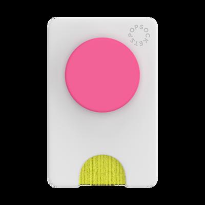 PopWallet+ Color Block White Neon