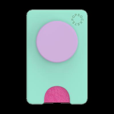 PopWallet+ Color Block Ultra Mint