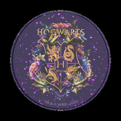 Glitter Hogwarts Floral