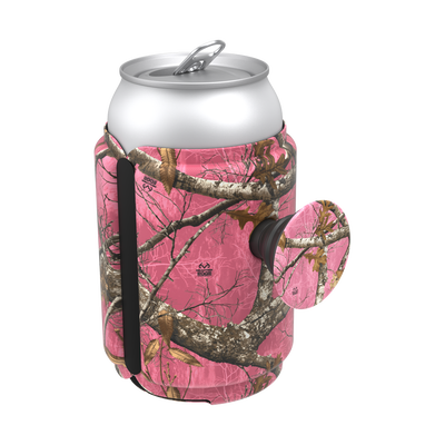 PopThirst Can Holder Realtree Xtra Pink