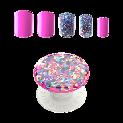 PopSockets Nails Confetti Party