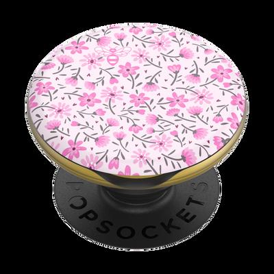 PopGrip Lips X Burt's Bees Pink Ditsy