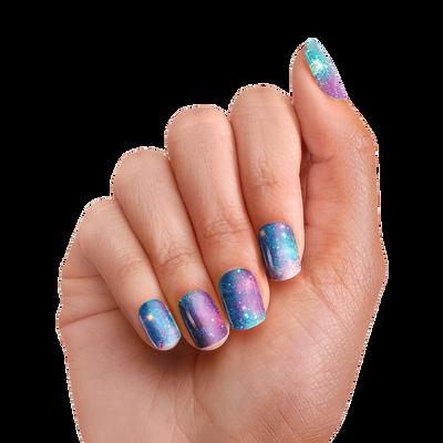PopSockets Nails Blue Nebula