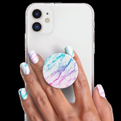 PopSockets Nails Unicorn Marble Spectrum