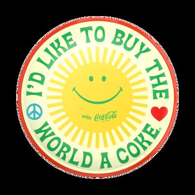 Printed Vegan Leather Coke Unity