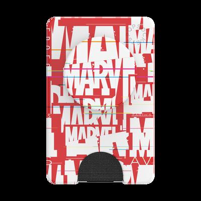 PopWallet+ Marvel Logo Glitch
