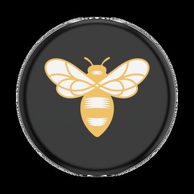 PopGrip Lips X Burt's Bees Bee Logo