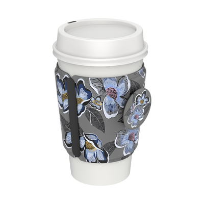 PopThirst Cup Sleeve Blooms Shower