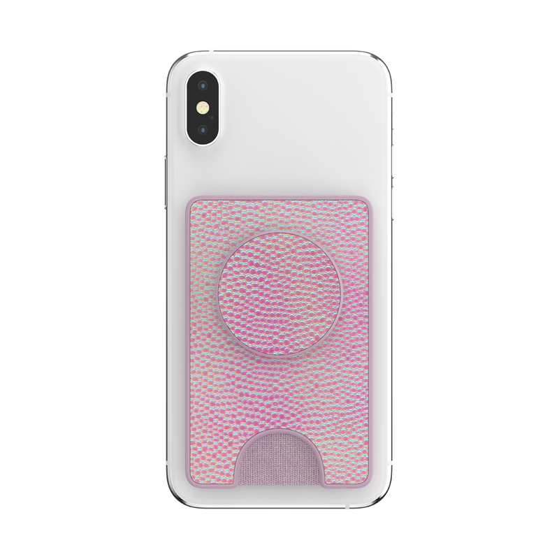 PopWallet+ Iridescent Pebbled Blush image number 6