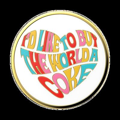 Enamel Coke Unity Heart