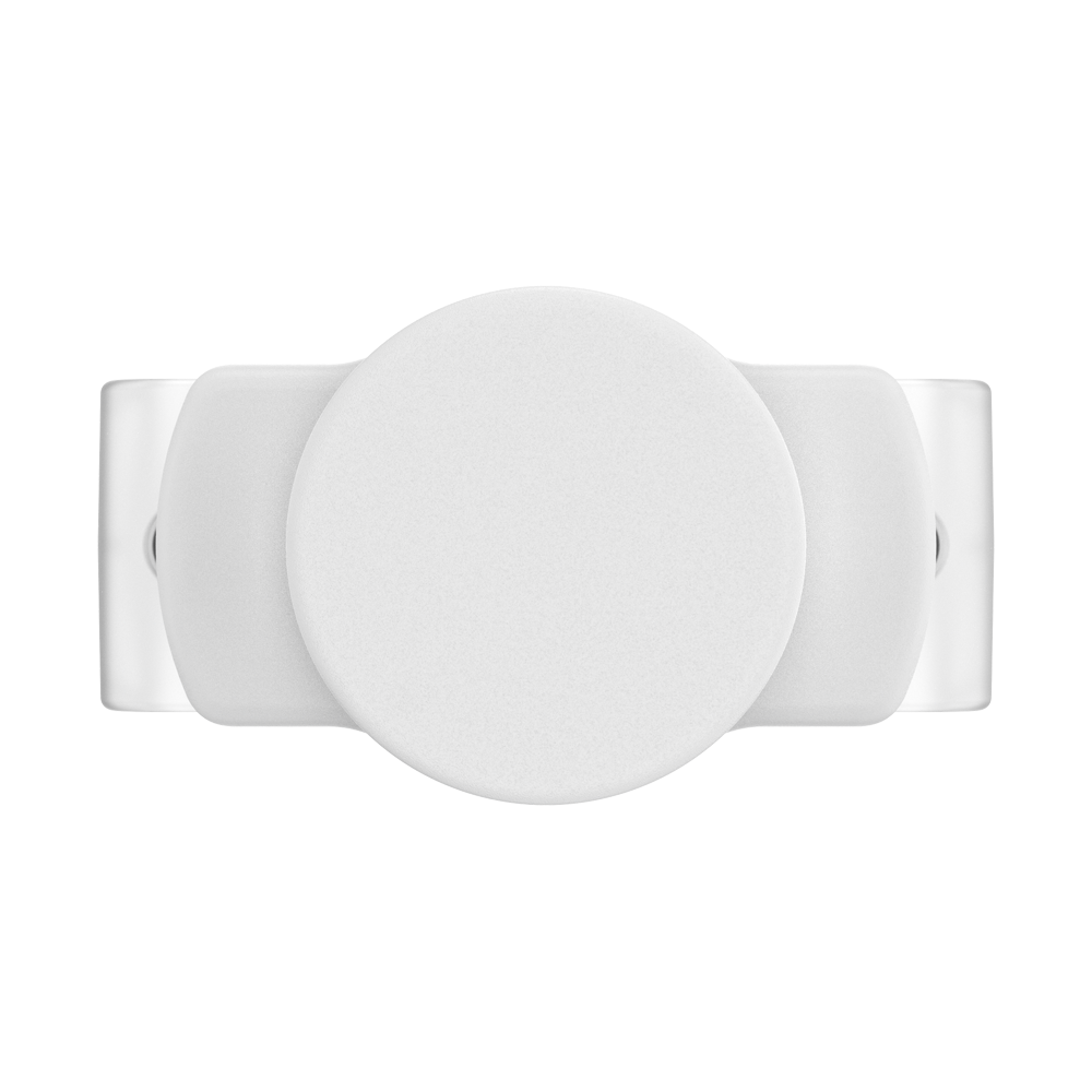 PopGrip Slide Stretch White with Rounded Edges