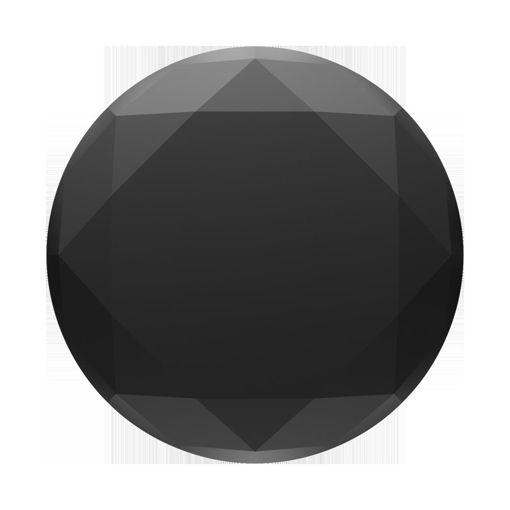 PopSockets 800504 Holder//Mount for Smartphones /& Tablets Black Metallic Diamond