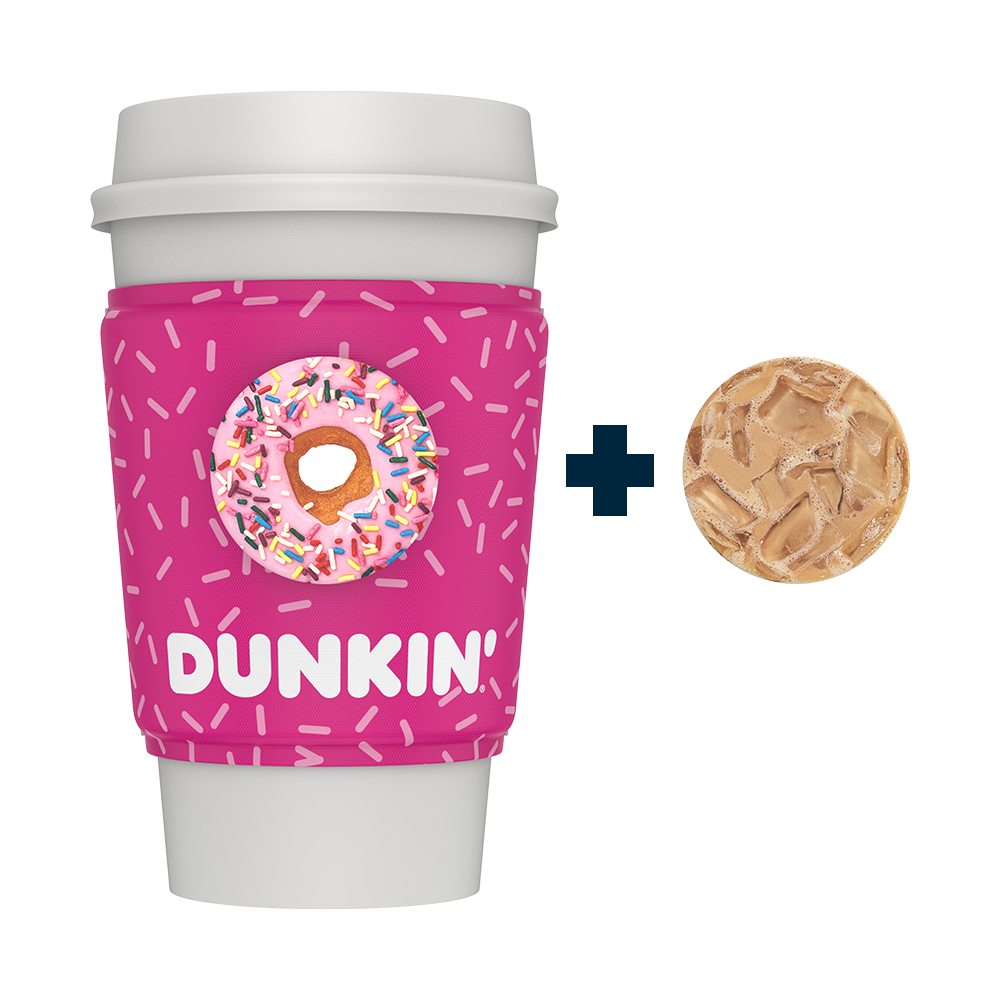 PopThirst Cup Sleeve Dunkin'