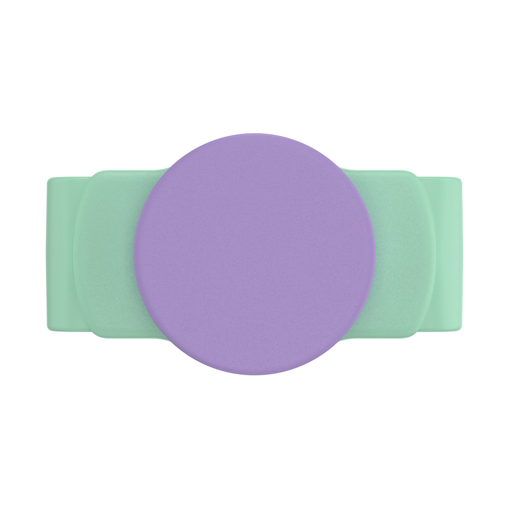 PopGrip Slide Stretch Iris Mint with Rounded Edges
